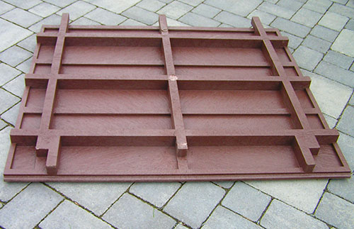 Modular Decking Moulded Recycled Plastic Sections Trade